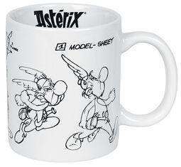 Asterix & Obelix Character Sketch