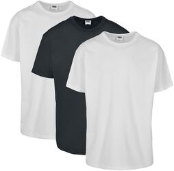 Balenie 3 ks organických Basic tričiek