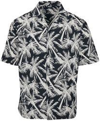 Košeľa Pattern Resort - White Palm