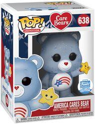 Vinylová figúrka č. 638 America Cares Bear (trblietavá) (Funko Shop Europe)