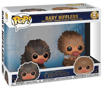Balenie 2 vinylových figúrok The Crimes of Grindelwald - Baby Nifflers