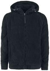 Menčestrová bunda s kapucňou