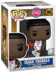 Vinylová figúrka č. 101 Detroit Pistons - Isiah Thomas (Home Jersey)