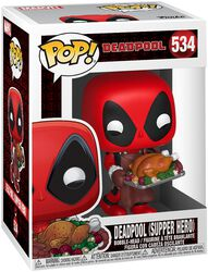 Vinylová figúrka č. 534 Deadpool (Supper Hero) (Holiday)