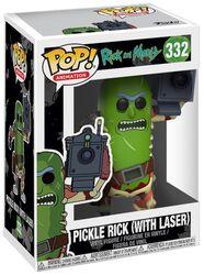 Vinylová figúrka č. 332 Pickle Rick (s lejzrom)