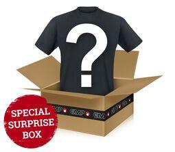 Prekvapenie - tričko z kategórie Metal/Rock Metalové/Rockové tričká, ktoré vám vyberieme my