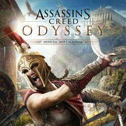 Nástenný kalendár Odyssey 2019
