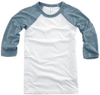 Bejzbalové tričko Youth s 3/4 rukávmi
