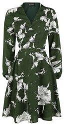 Zavinovacie kvetované šaty Molly