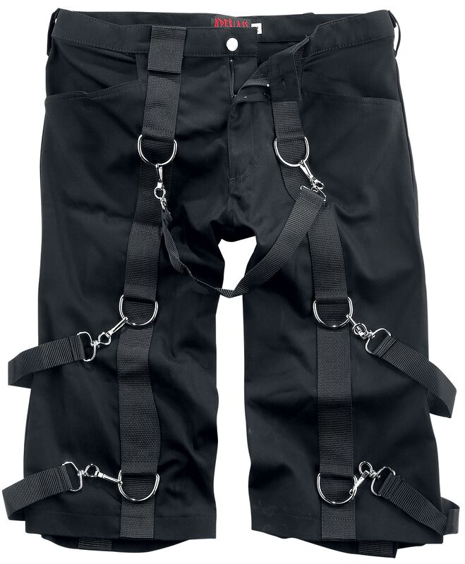 Krátke denimové nohavice
