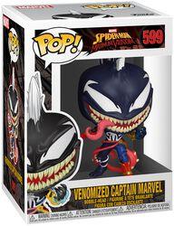 Vinylová figúrka č. 599 Maximum Venom - Venomized Captain Marvel