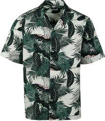 Vzorovaná košeľa Palm Leaves