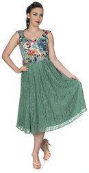 Šaty Mixed Fabric