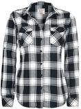 Kockovaná flanelová košeľa Amy