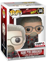 Vinylová figúrka č. 346 Ant-Man and The Wasp - Hank Pym unmasked