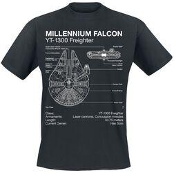 Modrotlač Millenium Falcon