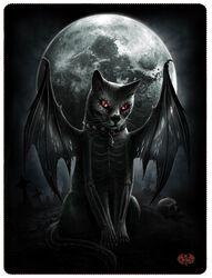 Flisová deka Vamp Cat