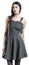 Kárované šaty Miss Morbid