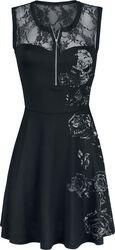 Čipkované šaty Lilly Fallen Lace Logo