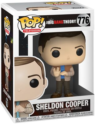 Vinylová figúrka č. 776 Sheldon Cooper