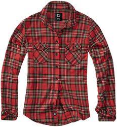 Károvaná flanelová košeľa Amy