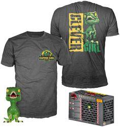 Clever Raptor (GR/TRL) - T-Shirt plus Funko