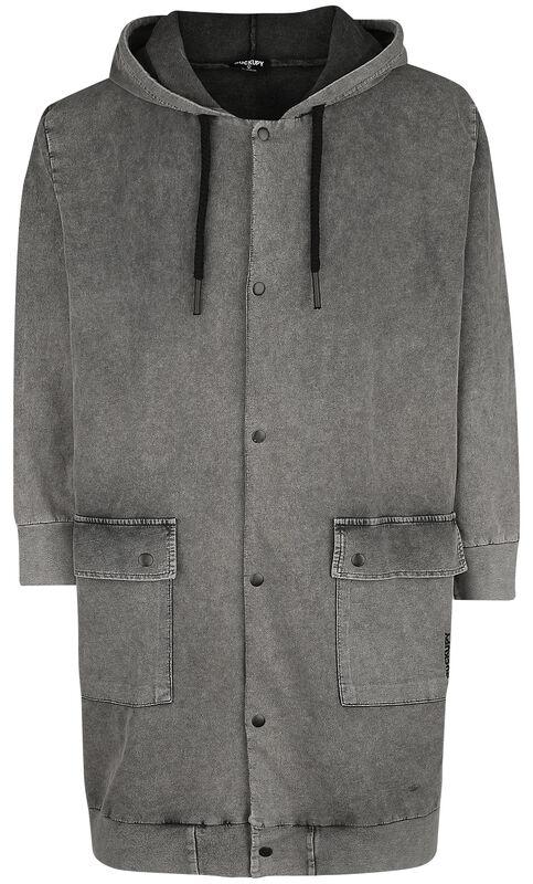 Tepláková bunda s kapucňou