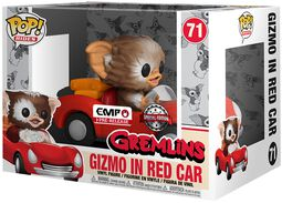 Vinylová figúrka č. 71 Gizmo in Red Car POP Rides