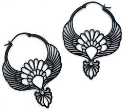 Kruhové náušnice Mockingbird