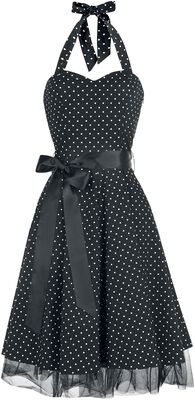 Šaty s malými bodkami