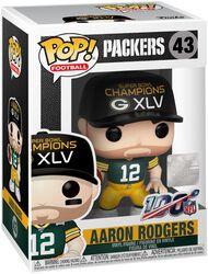 Vinylová figúrka č. 43 Packers - Aaron Rodgers