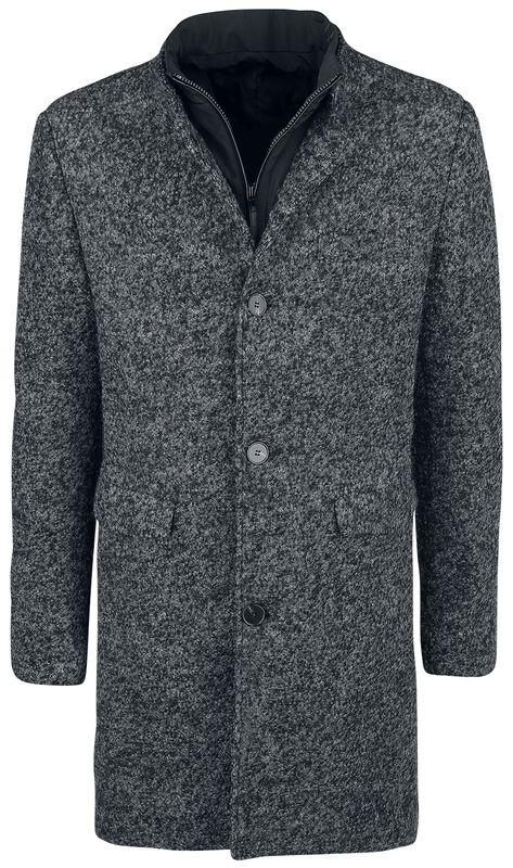 Melírovaný kabát