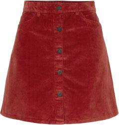Krátka menčestrová sukňa Sunny