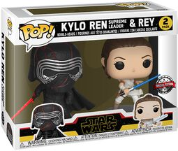 Balenie 2 ks vinylových figúrok The Rise of Skywalker - Kylo Ren (Supreme Leader) & Rey