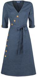 Šaty s rozšírenou sukňou Susanna Nautical