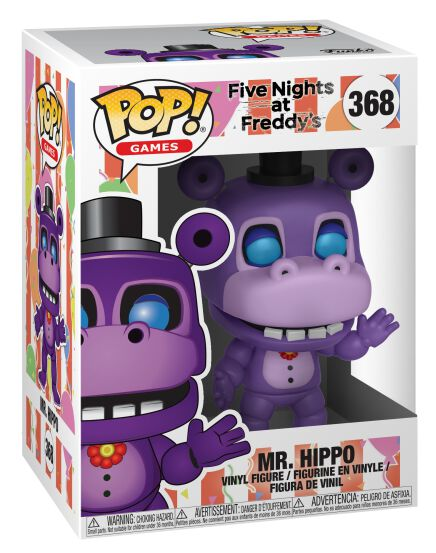 a8ff5aaa86020 Vinylová figúrka č. 368 Pizza Sim - Mr. Hippo | Five Nights At ...