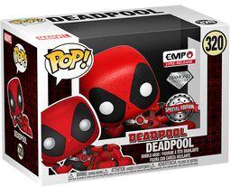 Vinylová figurka č. 320 Deadpool (Glitter Diamond Edition)