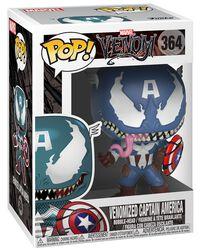 Vinylová figúrka č. 364 Venomized Captain America
