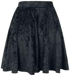 Zamatová sukňa