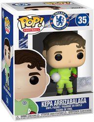 Football Vinylová figúrka č. 35 FC Chelsea - Kepa Arrizabalga