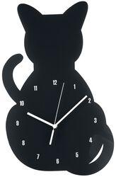 Acryl - nástenné hodiny Cat