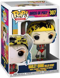 Vinylová figúrka č. 307 Harley Quinn Roller Derby