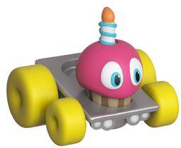Vinylová figúrka Super Racers - Cupcake