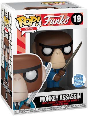 Vinylová figúrka č. 19 Fantastik Plastik - Monkey Assassin (Funko Shop Europe)