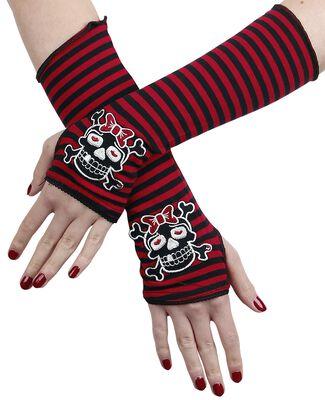 Prúžkované rukávniky