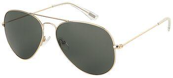 Zelené letecké slnečné okuliare