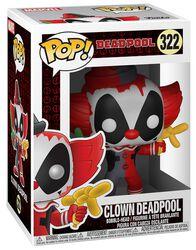 Vinylová figúrka č. 322 Clown Deadpool