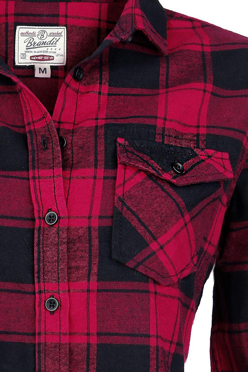 355981b36714 Kockovaná flanelová košeľa Amy