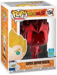 Vinylová figúrka č. 154 Z - SDCC 2019 - Super Saiyan Vegeta (Red Chrome)