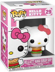 Vinylová figúrka č. 29 Hello Kitty (Kawaii Burger Shop)